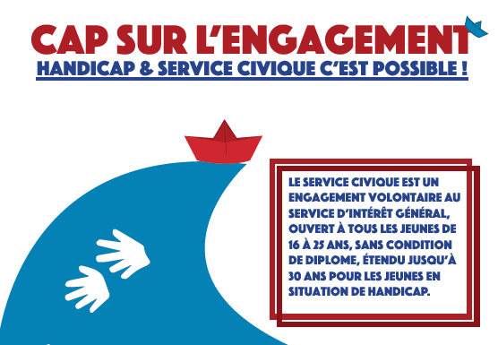 Flyer Cap sur l'engagement