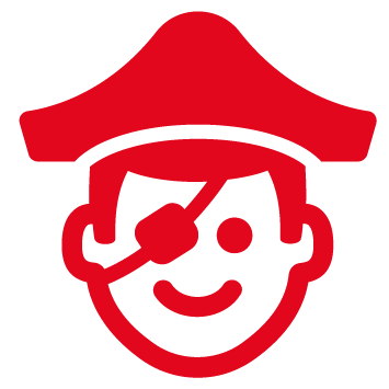 pictogramme pirate